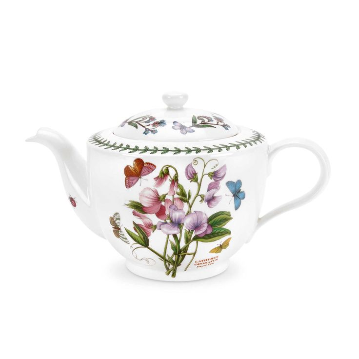 Beautiful teapot with butterflys and flowers. This is Botanic Garden by Portmeirion. Full range available! £35.20