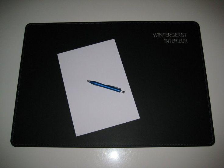 Schreibtischunterlage Leder 90x60 cm in 24 Farben  von Wintergerst auf DaWanda.com