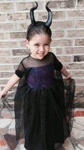 Maleficent Costume Child