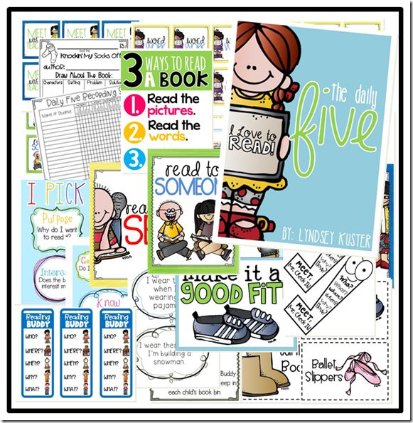 the daily five (free classroom resources!)