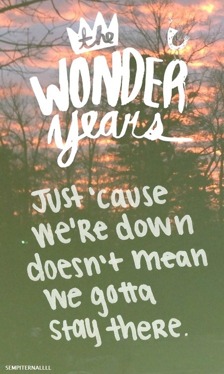 You're not salinger.Get over it-The Wonder Years <3