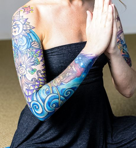 Tattoo Designs Yoga: 38 Best Images About Yoga-Inspired Tattoos On Pinterest