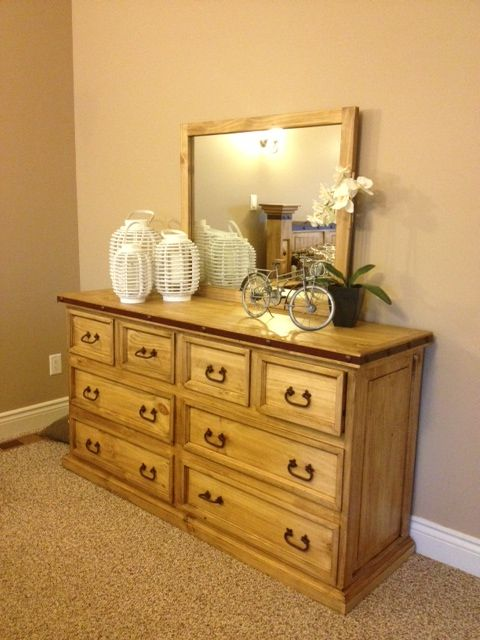 Rustic Dresser With Mirror Boutique Hobby Horse 18090 Rue