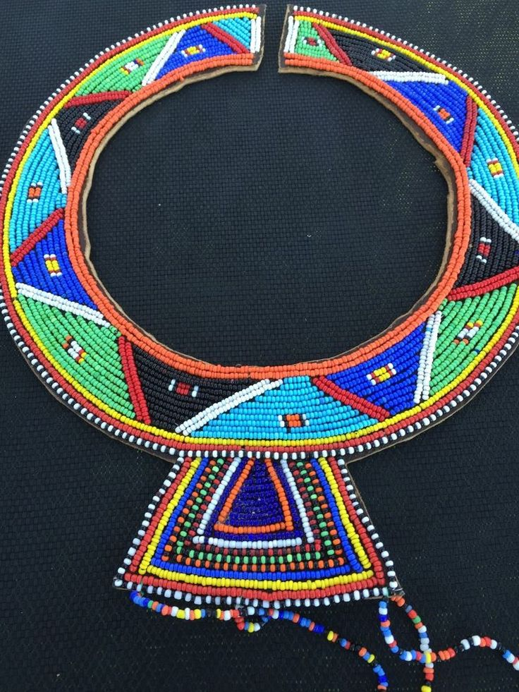 Details About African Maasai Masai Beaded Ethnic Tribal