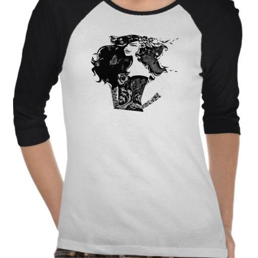 girl power_bw t-shirts
