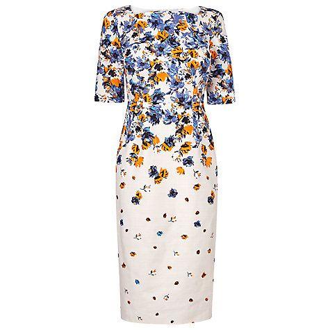 Vintage Bride ~ Mother of the Bride ~ L.K. Bennett Devra Canvas Floral Printed Dress ~ [vintagebridemag.com.au] ~ #vintagebride #vintagewedding #vintagebridemagazine #motherofthebride #motherofthegroom