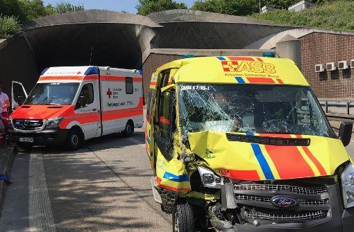 Wegen eines Unfalls im Kappelbergtunnel kommt es zur Zeit zu Stau. Foto: 7aktuell.de/Simon Adomat