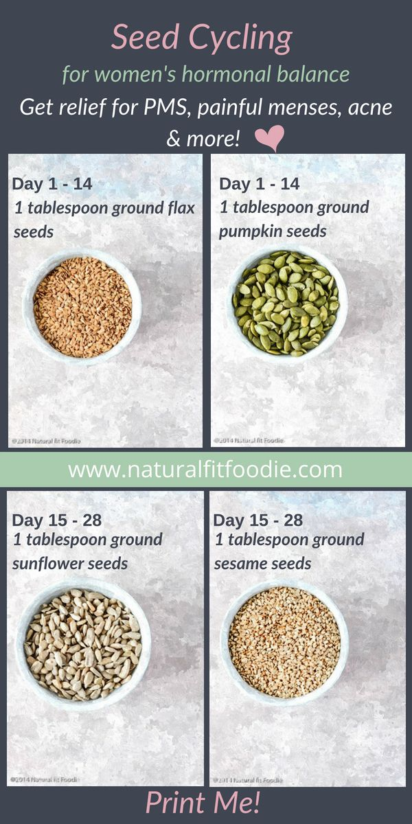 Have you heard of seed cycling? Learn all about this delicious and easy way to b… – Samantha Chaney