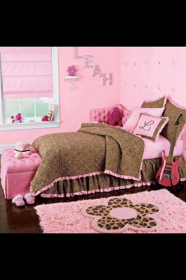 Pink U0026 Leopard Print Bedroom