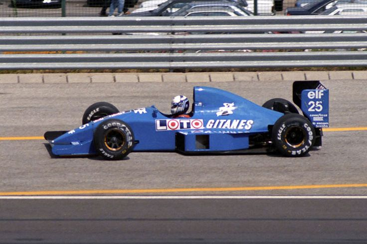 1990 GP Węgier (Hungaroring) Ligier JS33B - Ford (Nicola Larini)