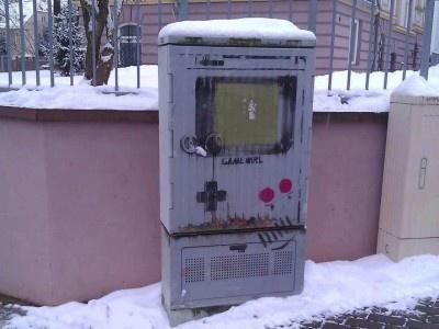 Game Boy Street Art