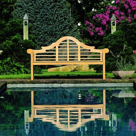Kingsley Bate: Elegant Outdoor Furniture. Lutyens Bench Part 94