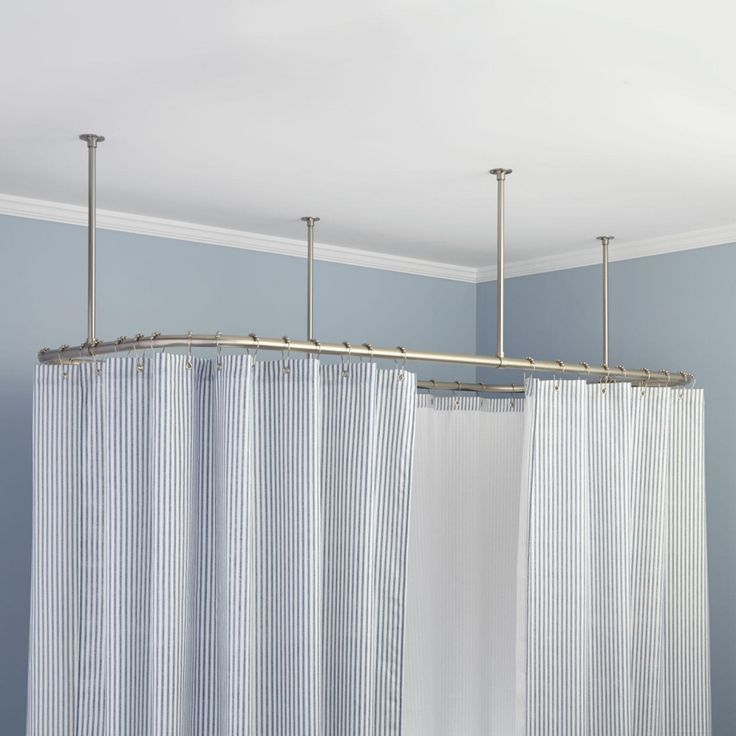 Best 25 Ceiling Mount Curtain Rods Ideas On Pinterest