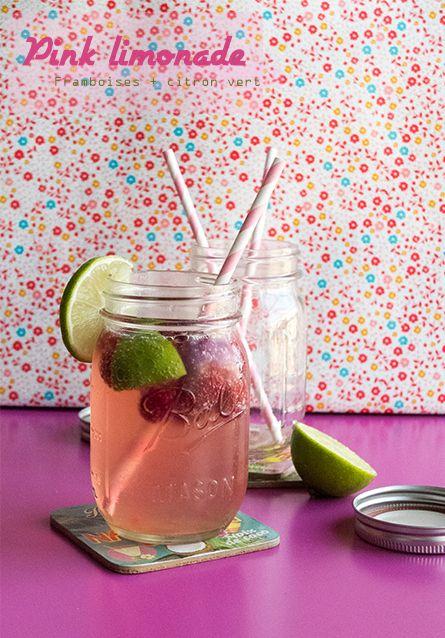 Pink limonade - Par Madeleine et Plumes d'autruche