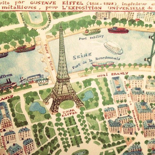 Plan du Champs de Mars et environs, Paris