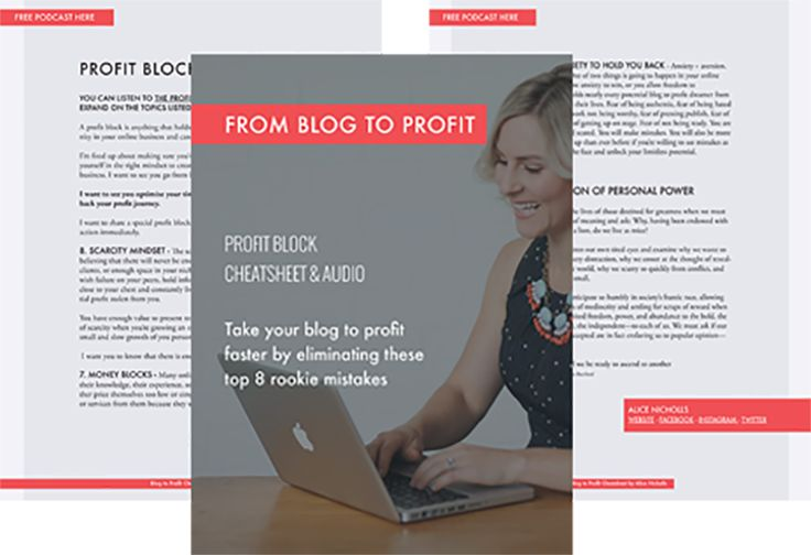 download your free blog to profit cheatsheet and audio here!