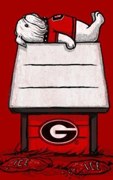 UGA love  ~ Check this out too ~ RollTideWarEagle.com sports stories that inform and entertain and Train Deck to learn the rules of the game you love. #Collegefootball Let us know what you think. #UGA