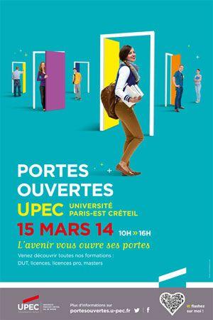 Journée Portes Ouvertes de l'UPEC - 15 mars 2014