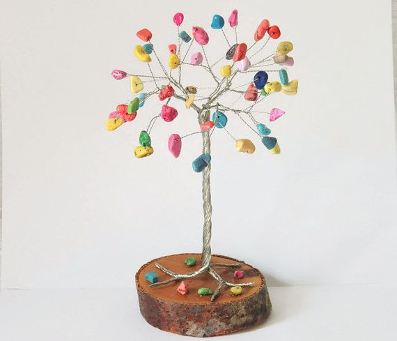 Rainbow baby, Wire tree of life, nursery decor, Colorful childrens art, Happy tree sculpture, Candy Tree, Fairy tree, Sweet 16, Nursery art