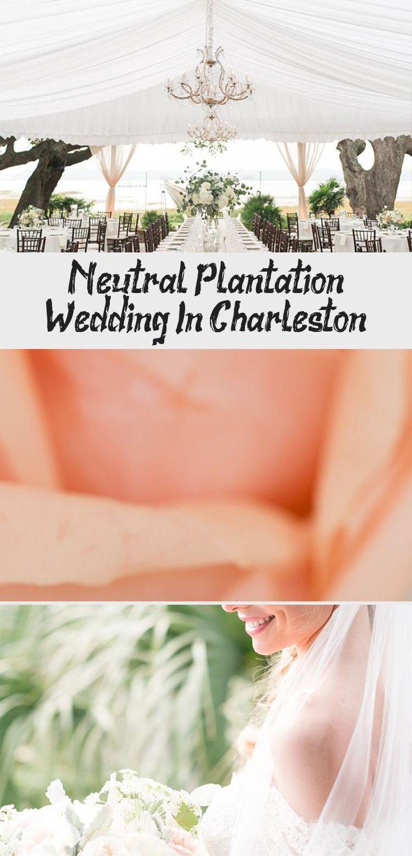 Neutral Plantation Wedding in Charleston - Inspired By This #BridesmaidDressesMauve #MermaidBridesmaidDresses #BridesmaidDressesCoral #GreenBridesmaidDresses #SimpleBridesmaidDresses