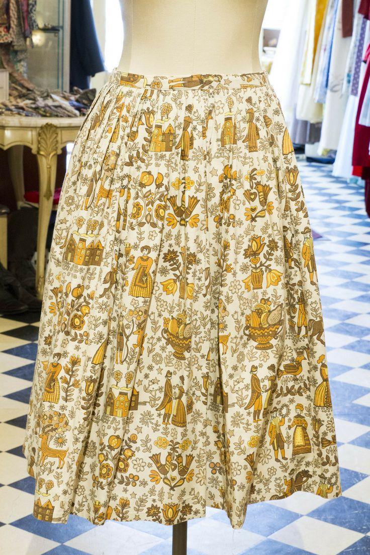 Cabaret Vintage - Ladies Vintage Domestic Print Skirt, $125.00 (http://www.cabaretvintage.com/dresses/vintage-skirts/ladies-vintage-domestic-print-skirt/)  #vintageskirt  #vintage #dressvintage #shopping #vintagestore #vintagefashion #ilovevintage #vintagelove #vintagegirl #vintageshopping #vintageclothing #vintagefinds #vintagelover #vintagelook #followme #skirtoftheday #ootd #shopitrightnow #instastyle #torontovintage #toronto #queenwest #cabaretvintage