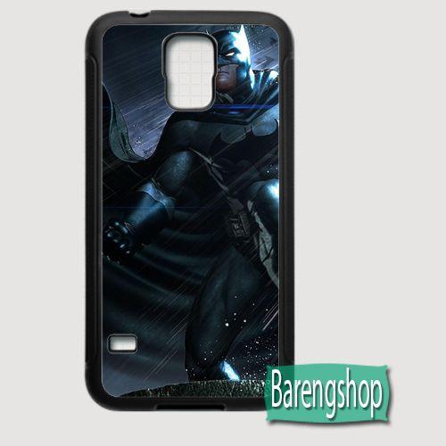 Rubber Case Batman DC Universe Comics Custom Samsung Galaxy S5 Case