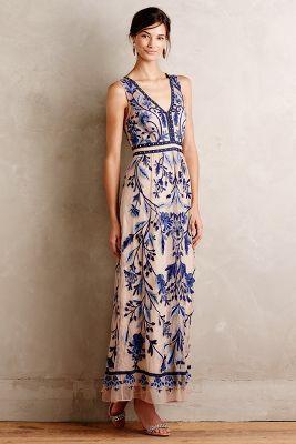 Willowpark Maxi Dress #Anthropologie