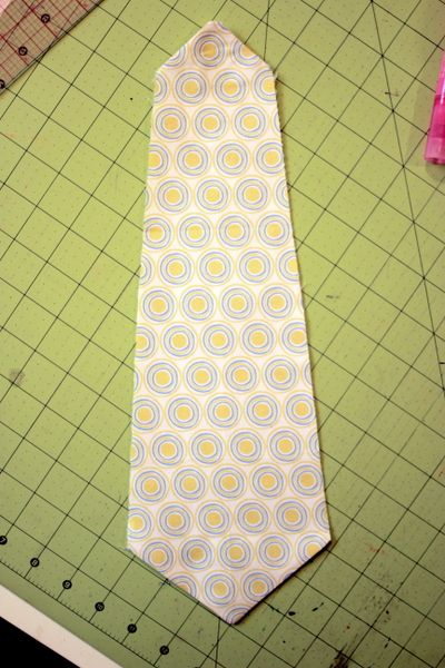 toddler cotton neck tie tutorial and pattern