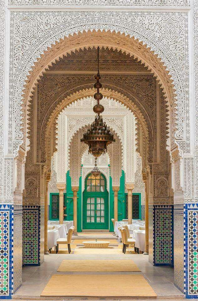 :::: ✿⊱╮☼ ☾ PINTEREST.COM christiancross ☀❤•♥•* ::::Beautiful Islamic art from MOROCCO
