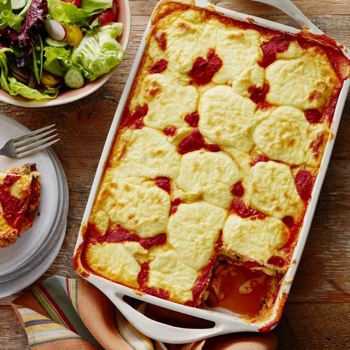 Add some excitement to your Meatless Monday meals with Polenta Lasagna!