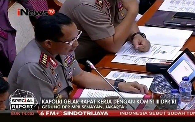 DPR Cecar Kapolri: Kenapa Penggalangan Dana GNPF-MUI Diusut, Teman Ahok Tidak?