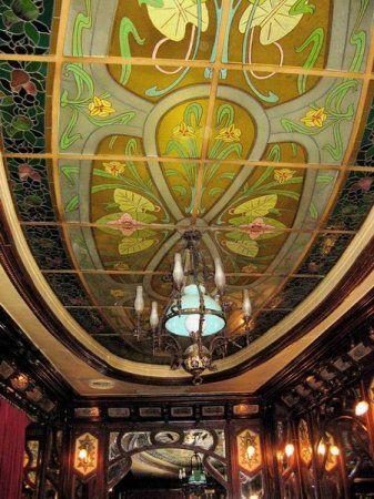 Restaurant Vagenende, 142 bd St Germain Paris 6th 1902 Art Nouveau