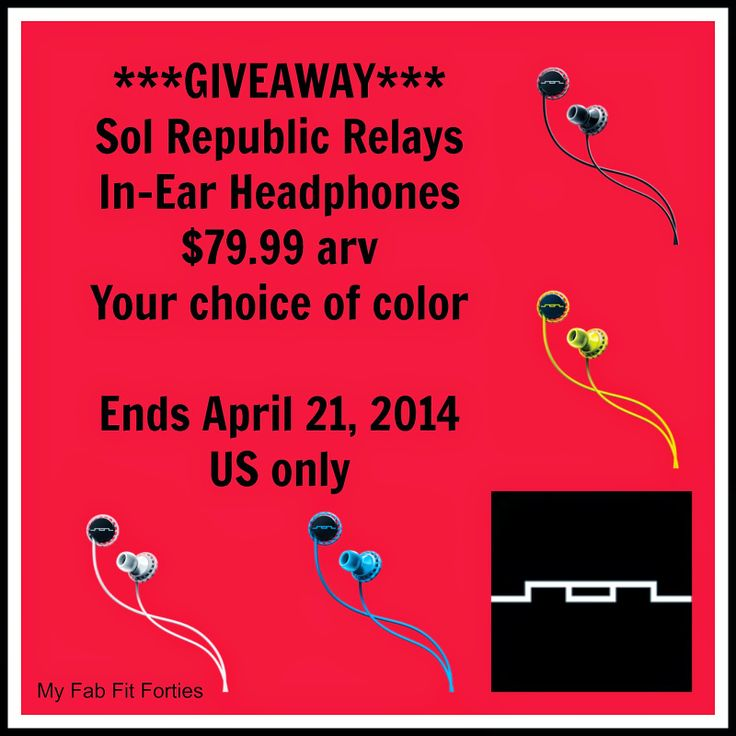 my fab fit forties giveaway   rock out with sol republic