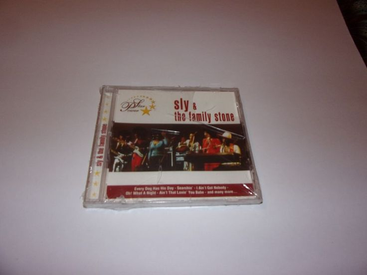 Star Power: Sly & the Family Stone by Sly & the Family Stone (CD,) Soul  #Funk