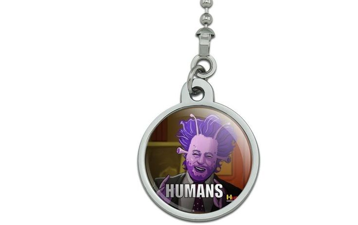 Human Aliens Guy History Meme Ceiling Fan and Light Pull Chain