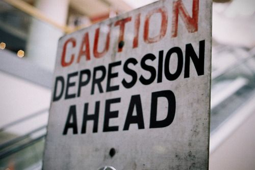 Depression : Depression Ahead, Depression Pregnancy, Depression Anxiety, Depression Community, Bipolar Depression, Photo, Back To School, Caution Signs