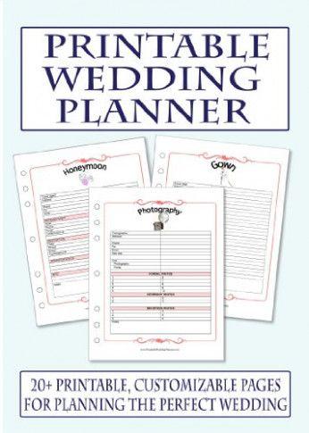 7 Best Images Of Free Printable Wedding Planner Book 14ingenious
