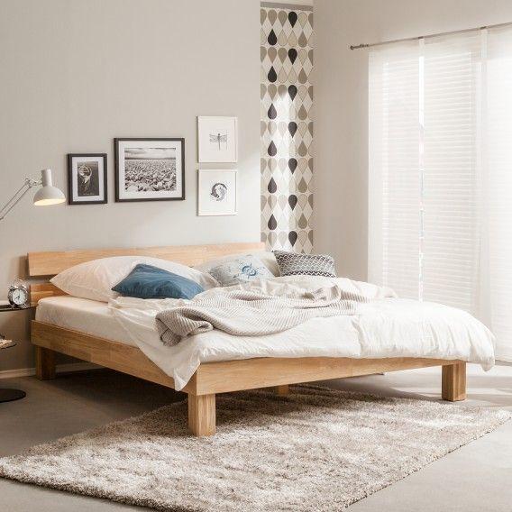 Massivholzbett Areswood Schlafzimmermobel Massivholzbett Bett