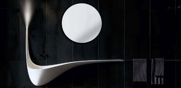 Luxo no banheiro: veja cinco pias com formas esculturais e incomuns - 18/12/2015 - UOL Estilo de vida
