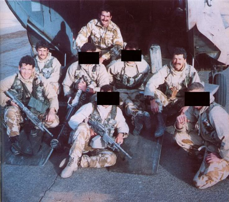 Bravo Two Zero team picture before their fateful mission. What really happened to them out there?