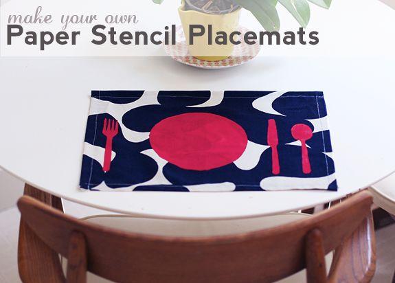mantel individual  placemats