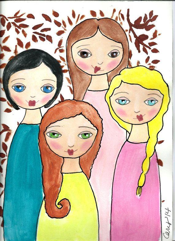 Jody, Debby, Sheryl, Lynn - my sisters and me