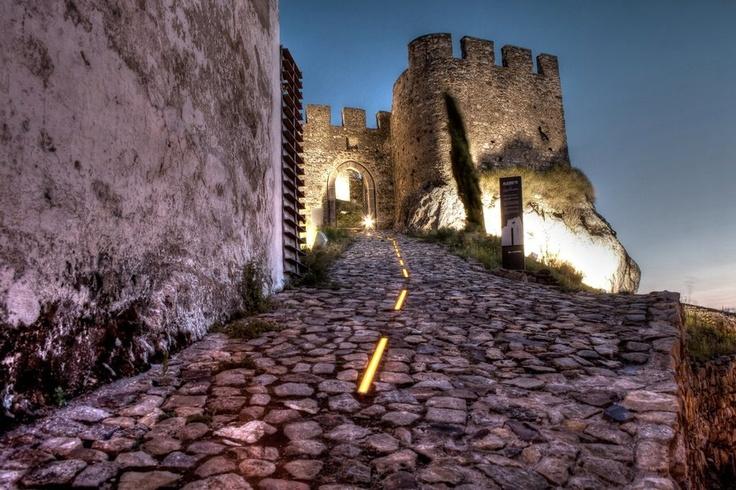 Alegrete castle, near Portalegre #Marvao #Alentejo #Portugal