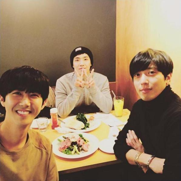 Kwanghee, Lee Joon and Yonghwa