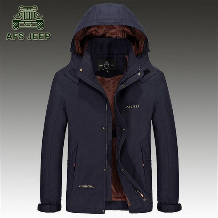 >> Click to Buy << AFS JEEP 2016 Chaqueta impermeable Los hombres,Hooded Leisure Original Brand Zipper Fly Autumn/Spring Cardigan Polyester Outwear #Affiliate