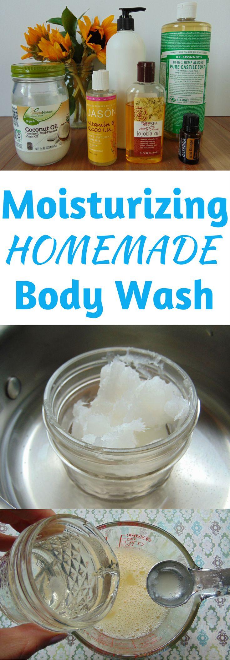 Homemade Moisturizing Body Wash Recipe Homemade body