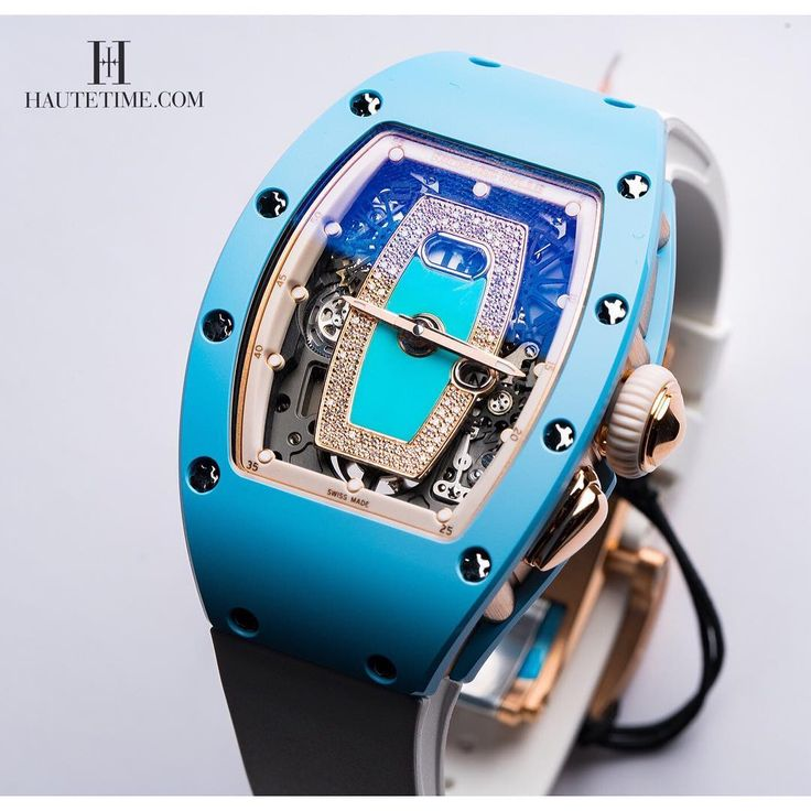 Richard Mille RM 037 Blue Ceramic.