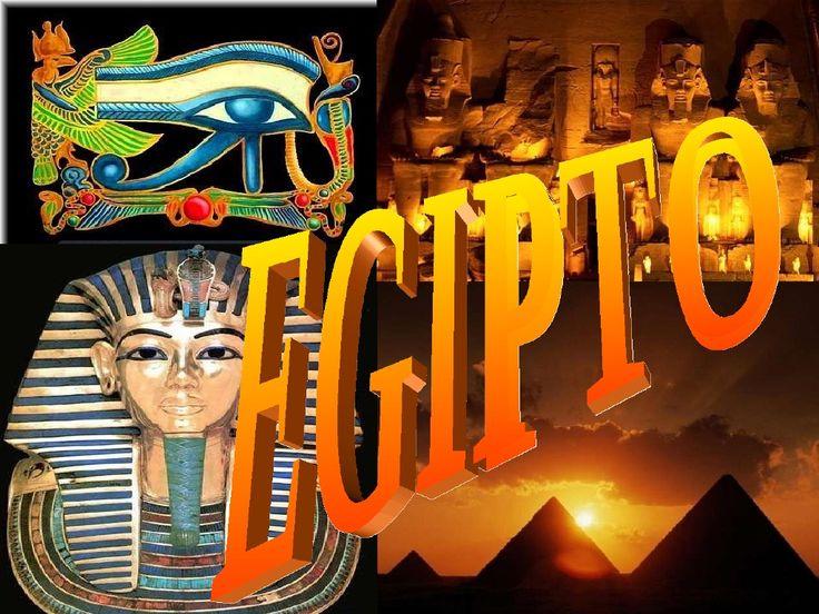 Egipto by MERCEDES PECELLIN via slideshare