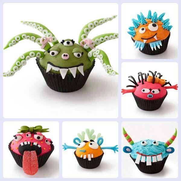 7 best images about fondant monsters on pinterest - Ideas para halloween decoracion ...