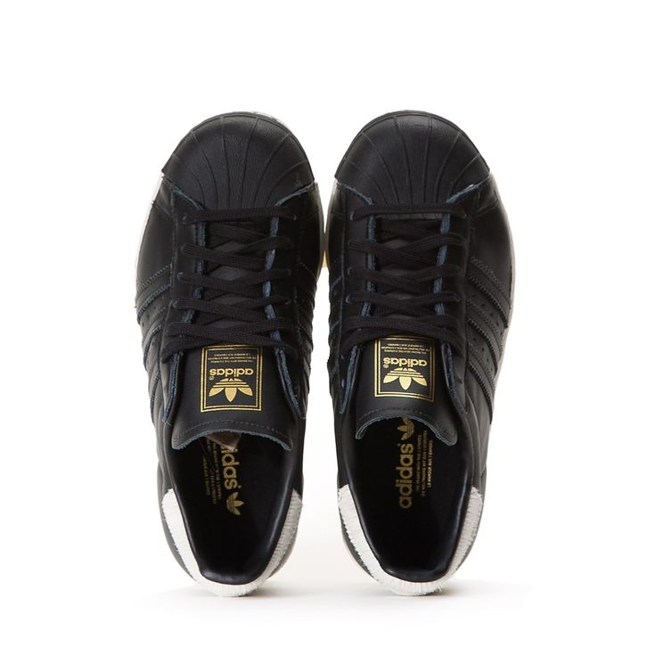 Adidas Superstar 80's W Core Black Off White